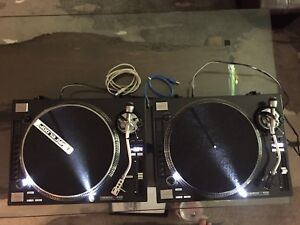 Pair Reloop RP-8000 DJ Turntable excellent 9.9/10