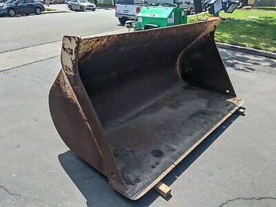 John Deere 624g Wheel Loader Quick Coupler 3.00 Yd Gp Bucket