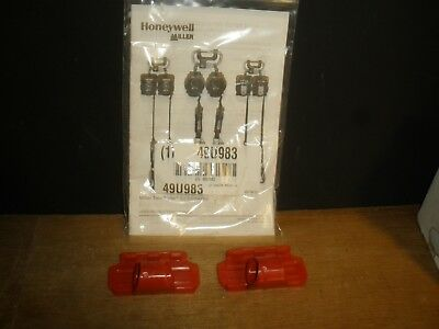 Honeywell Miller Mflc-3 Miller Twin Turbo G2 D-pad Connector Clip Red Qty.2