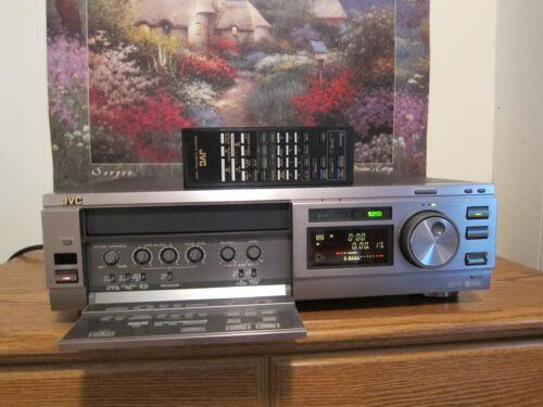 JVC BR-S378U SVHS vcr player recorder w/remote
