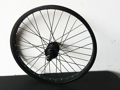 Black Tribal BMX Front Wheel fully sealed