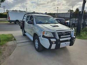 2007 Toyota Hilux SR Duel Cab Tray Ute 4X4 TURBO DIESEL Williamstown North Hobsons Bay Area Preview