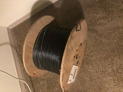 Electrical Wire 16 Awg Black Mtw 3000 Spool New