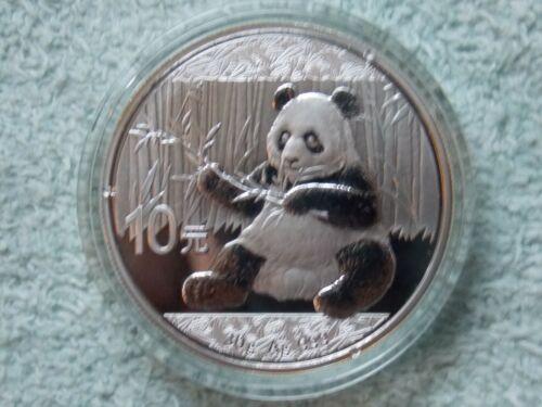 2017 Chinese Silver Panda 10 Yuan 30 grams BU
