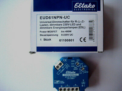 Eltako Dimmer Dimmschalter EUD61NPN-UC
