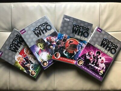 Doctor Who R2/4 DVDs – Green Death, Meglos, Time Flight, Frontier in Space