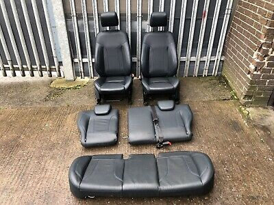 2010 FORD FIESTA MK7 3 DOOR FRONT AND REAR LEATHER SEATS SET   •1
