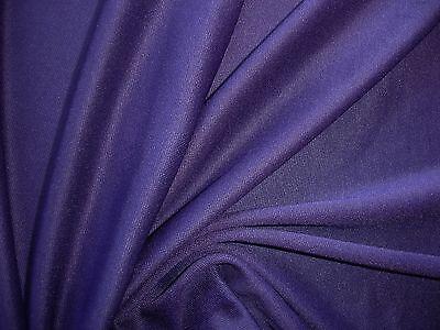 1 Lfm Jersey 3,55€/m² Schlauchstoff Micromodal blue velvet YA15