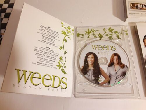 WEEDS Seasons 3 And 4 DVD Complete Box Sets Showtime Comedy SERIES 3 And 4 - $10.99