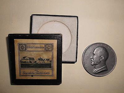Eisenbahn, Paul von Breitenbach, Köln 1914, Medaille, Christianenheim #MM015