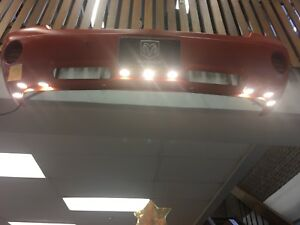 Custom Dodge Dakota bumper light