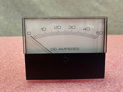 0-50 Dc Amperes Meter Model 66134011
