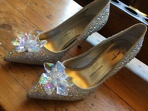 Stunning Rhinestone Glitter Bridal Wedding Shoes
