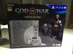 PS4 Pro God Of War Limited Edition Console, Read Description. (2)