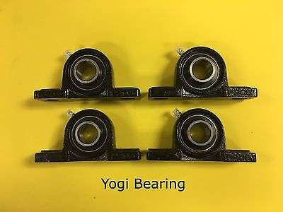 1 Inch Pillow Block Bearing Ucp205-16 4pcs Solid Base - High Quality