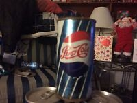 Collector Pepsi can