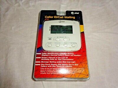 AT&T Home Telephone Caller ID w/ Visual Call Waiting 435 New and Sealed