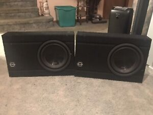 Subwoofers for standard truck cabs