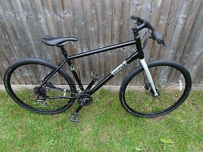 Pinnacle Lithium 3 20' Large Black/Grey Men's Hybrid Bike In Very Good Condition