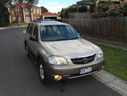 2002 Mazda Tribute Wagon RWC AIRCONDTION SUNROOF STEPSIDE BOKHIST Roxburgh Park Hume Area Preview