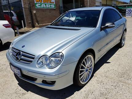 2006 Mercedes-Benz CLK280 Coupe 102kms Auto 3.0L V6 (Tidy) Wangara Wanneroo Area Preview