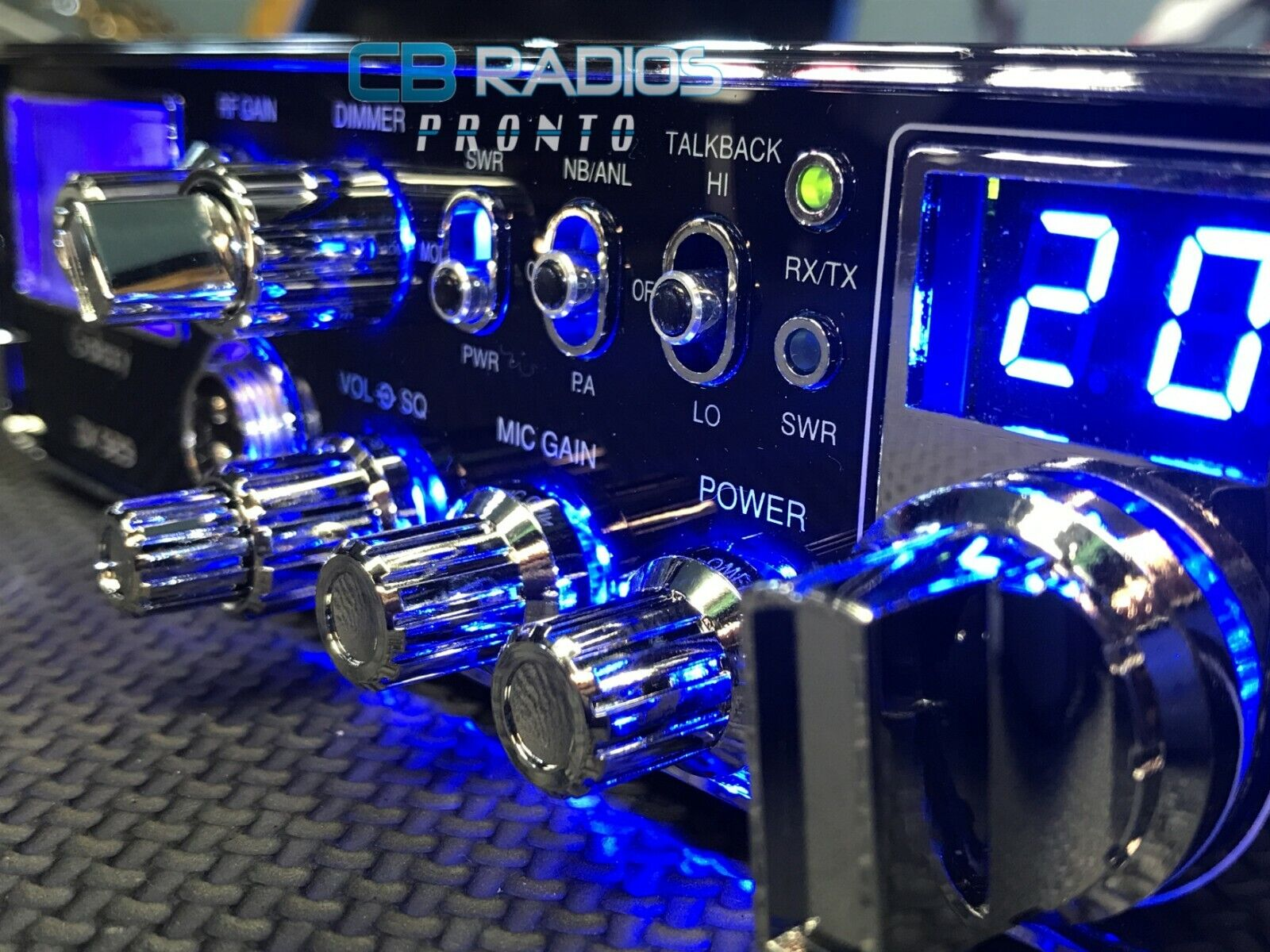 Galaxy DX929 CB Radio - NITRO LED RINGS + PERFORMANCE TUNED* + RECEIVE ENHANCED. Buy it now for 309.99