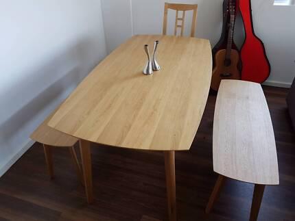 Freedom Novo Oak Dining Table