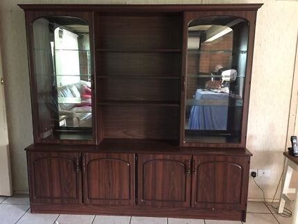 URGENT SALE - DISPLAY CABINET / WALL UNIT | Cabinets | Gumtree ...
