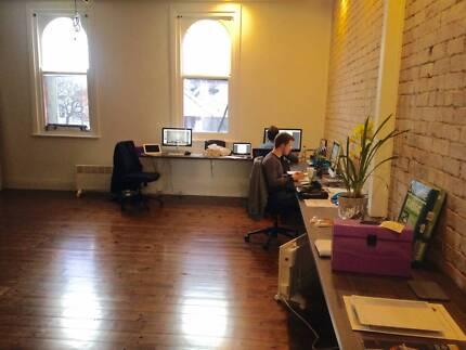 Hot desks and enclosed offices in classy new fit out (Brighton) Canterbury Boroondara Area Preview