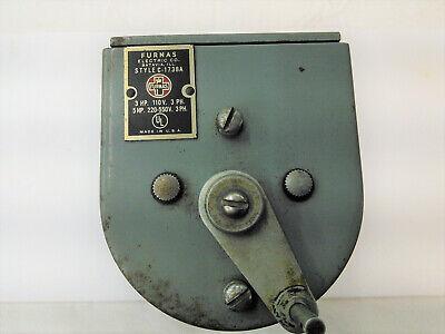 Furnas C1738a Speed Controller Drum Switch Hardinge Dv59 Lathe