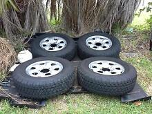 TYRE AND WHEEL PACKAGE Alexandra Hills Redland Area Preview