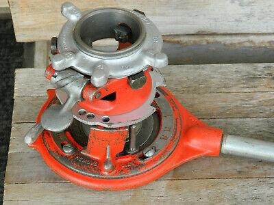Ridgid 65r C-418 Tc Pipe Threader 1-2
