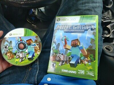 Minecraft: Xbox 360 Edition (Microsoft Xbox 360, 2013) some scratches see pics