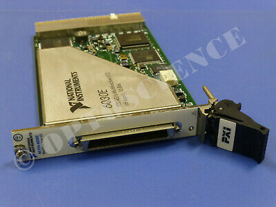 National Instruments Pxi-6030e Ni Daq Card Multifunction Analog Input