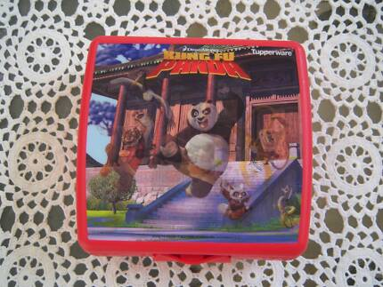 Retro Vintage Tupperware Container Sandwich Keeper Kung Fu Panda East Cannington Canning Area Preview