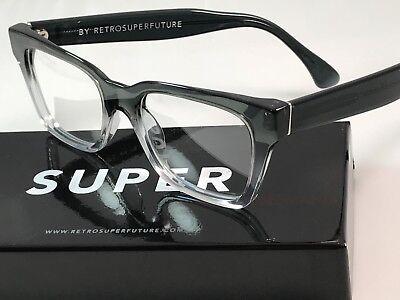 SALE Retrosuperfuture America Faded Grey Crystal Frame Glasses SUPER 823 NIB