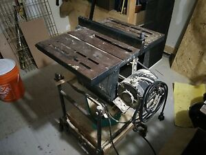 fantastic old style table saw