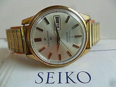 Vintage 1964 Men's Seiko 5 Sportsmatic 21J Automatic Diashock Watch 6619-8970