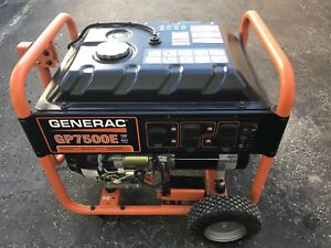 Generator with 10 hours on it.