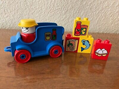 Vintage Lego Duplo Grocery Delivery Truck #2623