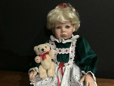 Doll Gail Shumaker Baby Christmas Snooks & Bear Vinyl Limited Edition 20