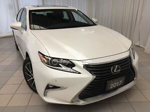 2017 Lexus ES 350 Touring Navi Package: 1 Owner, Fully Serviced