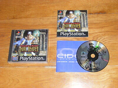 Legacy of Kain Soul Reaver (Sony PlayStation 1, 2000) PAL Complete