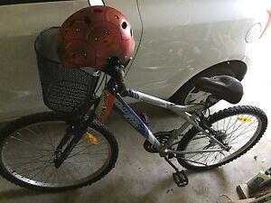 Bicycle with helmet Hurstville Hurstville Area Preview