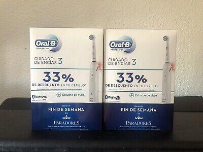 Pack de Cepillos Eléctricos de Oral-b Pro 3