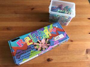 Rainbow loom - kit de fabrication de bracelets élastiques