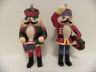 GINY Nutcracker Christmas Holiday Ornaments 1991