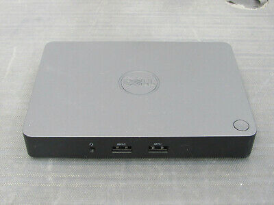 Dell WD15 USB-C Universal Laptop Docking Station w/ NO USB-C Cables Tested