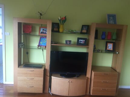 Modular wall unit | Entertainment & TV Units | Gumtree Australia ...
