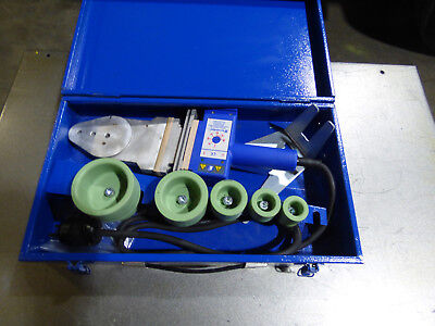 Tecnodue T2 Plastic Pipe Fusion Welding Portable 110 Volt Nice
